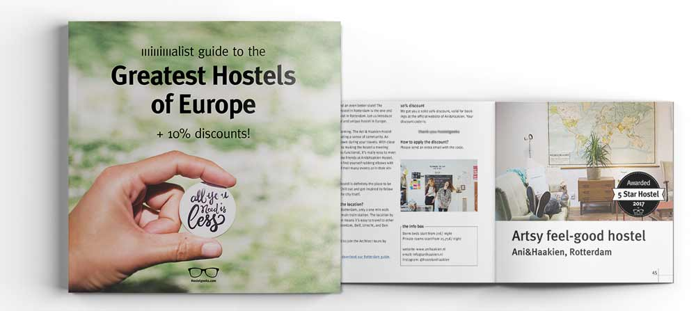 Best Hostels eBook 2017