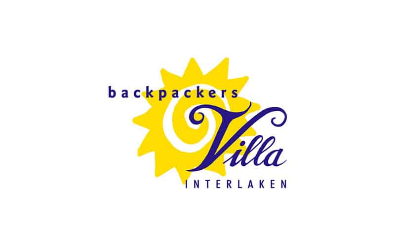 Backpackers Villa Sonnenhof - a hostels logo with a story to tell