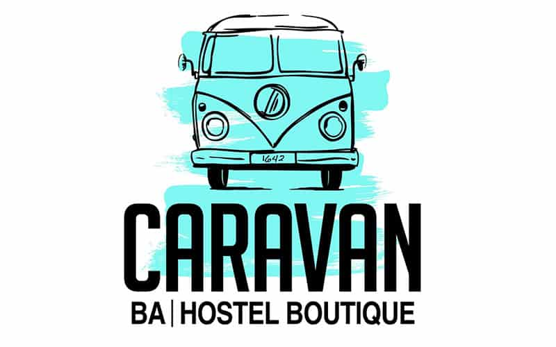 Caravan Buenos Aires - the best hostel in buenos aires and the creative logo