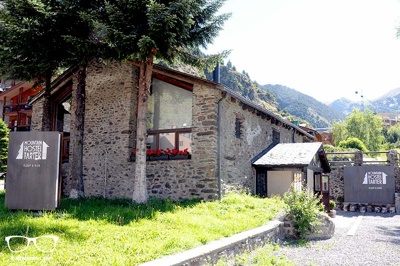 Andorra - 5 Star Hostel in a former farm house