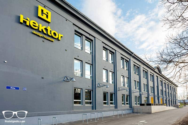 hostel architecture in Tartu, Estonia - Hektor Design Hostel