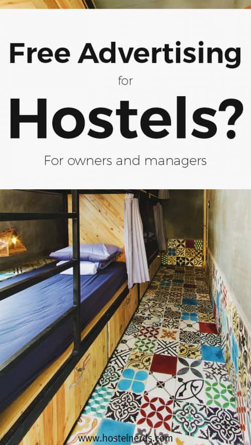 Advertise your Hostel for free? Get listed on COOL Hostels