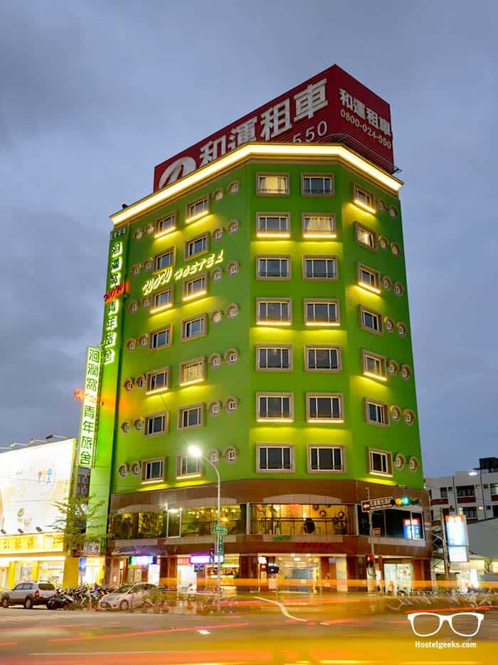 hostel architecture in Taiwan - Hualien WOW Hostel